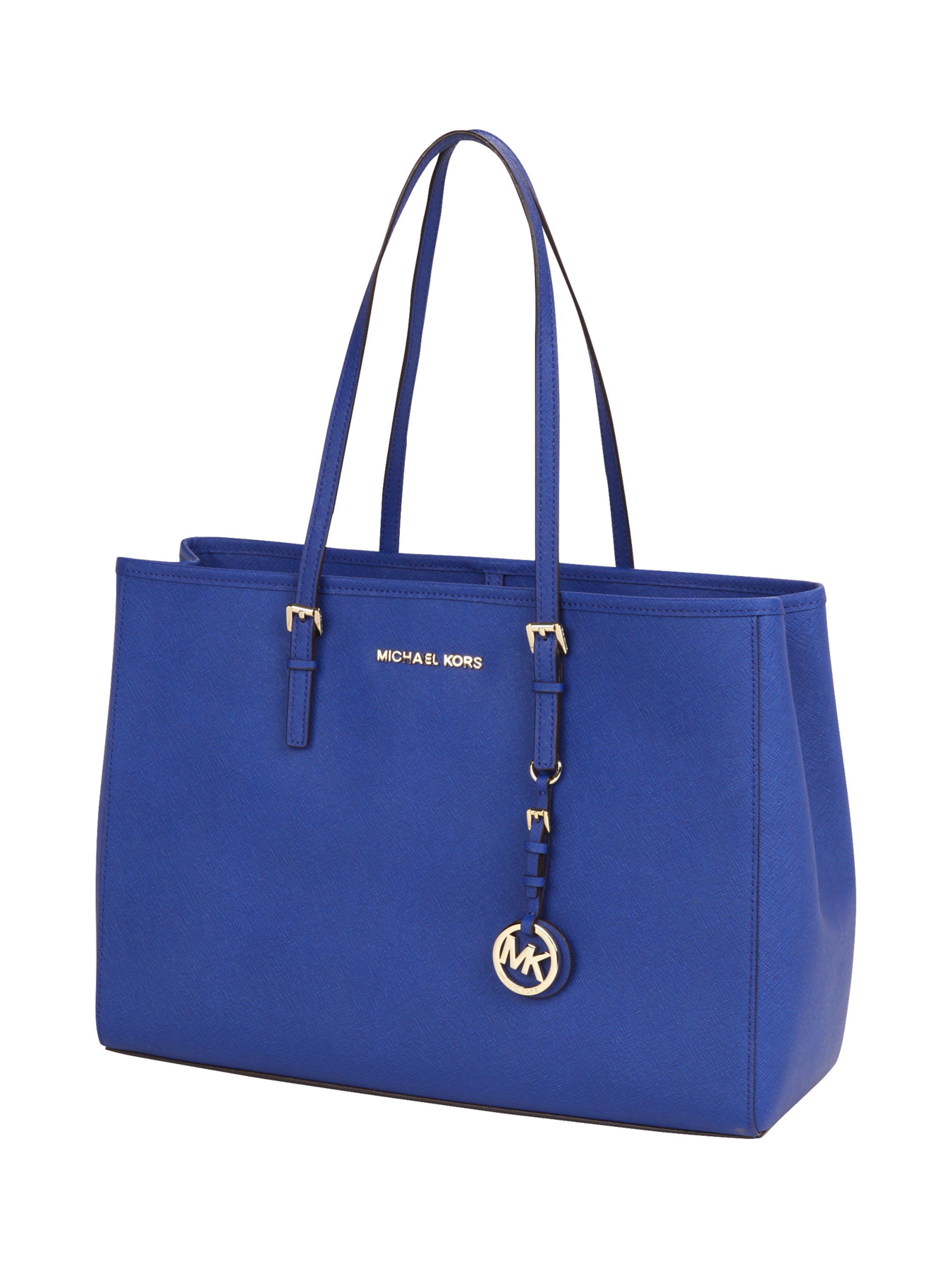 michael kors handtasche aus leder in blau t rkis online kaufen 8973992 p c online shop. Black Bedroom Furniture Sets. Home Design Ideas