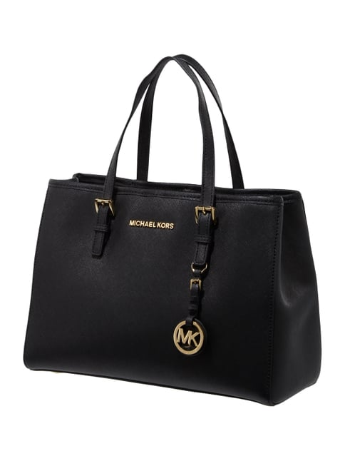 michael kors tasche schwarz leder holz fuer. Black Bedroom Furniture Sets. Home Design Ideas