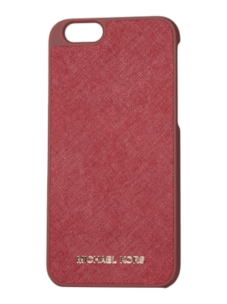 iPhone 6 Case aus Saffianoleder Rot - 1