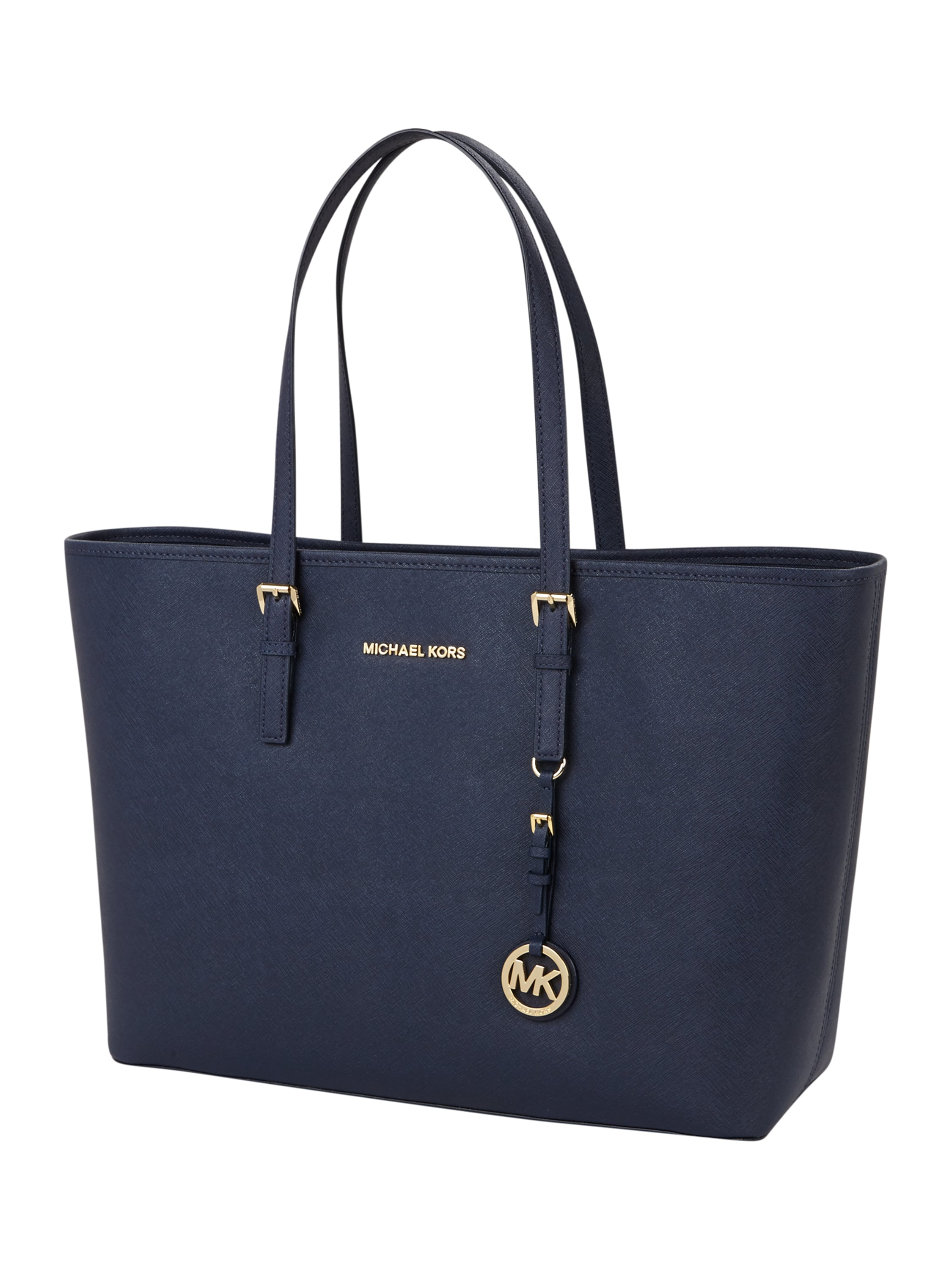 michael kors jet set travel medium tote aus saffiano leder. Black Bedroom Furniture Sets. Home Design Ideas