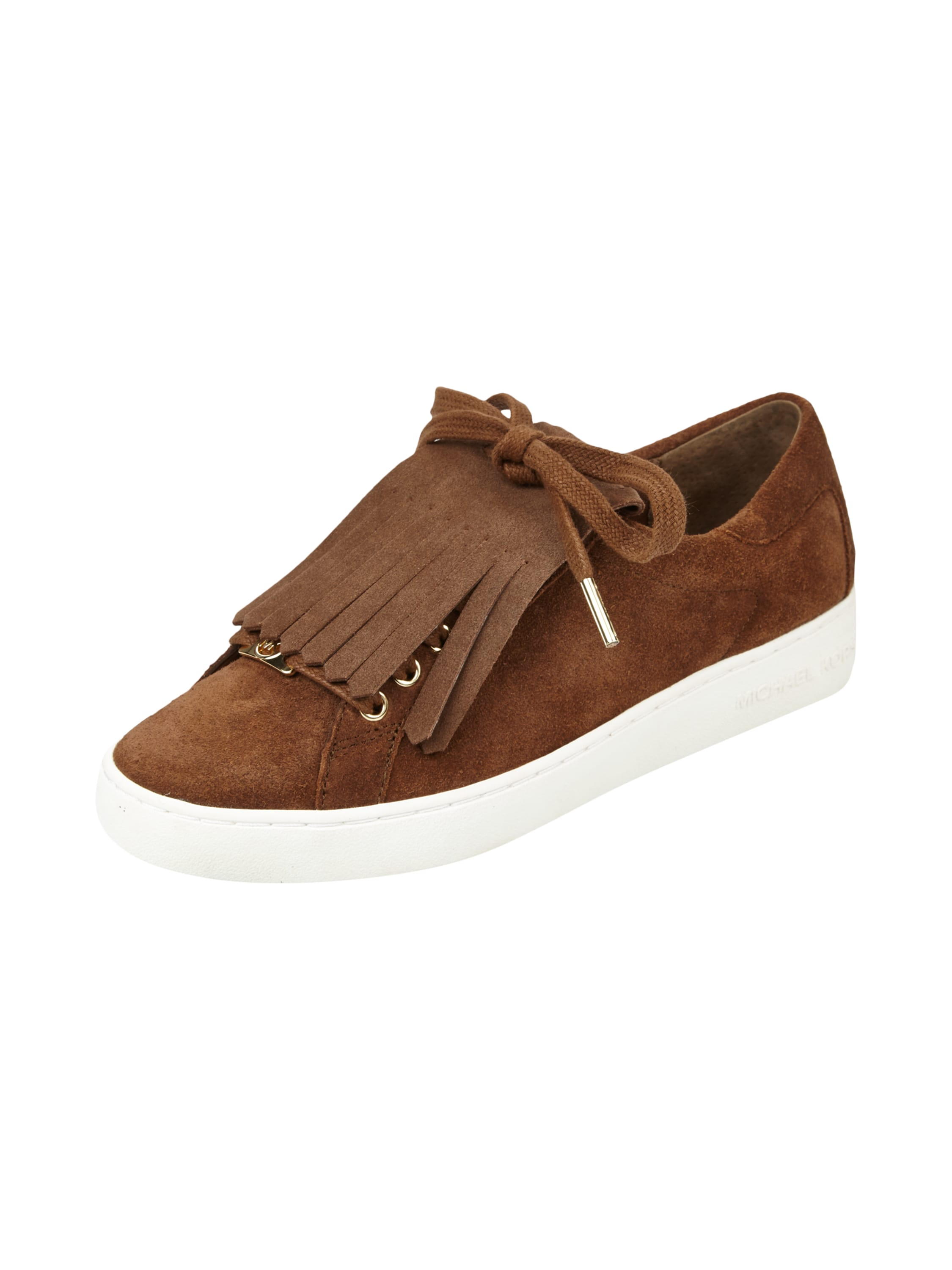 michael michael kors sneaker aus echtem veloursleder in braun online kaufen 9472363 p c at. Black Bedroom Furniture Sets. Home Design Ideas