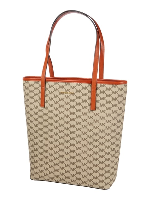 Tote Bag mit Logo-Muster Orange - 1