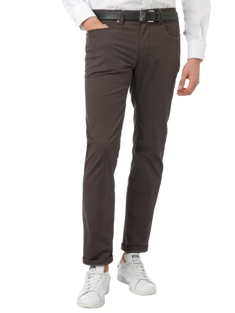 Montego 5-Pocket-Hose mit Stretch-Anteil Anthrazit - 1