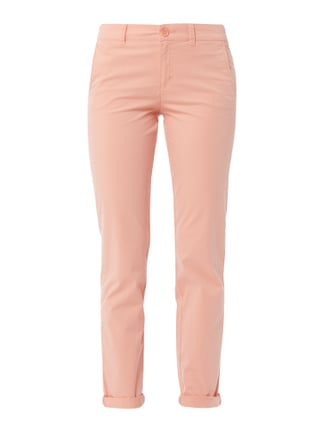 Chino mit Stretch-Anteil Orange - 1