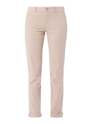 Chino mit Stretch-Anteil Rosé - 1