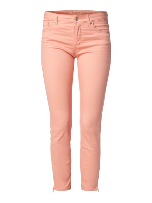 Coloured 5-Pocket-Jeans mit Stretch-Anteil Orange - 1