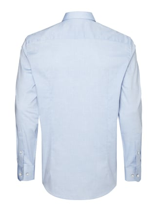 Montego Modern Fit Business-Hemd mit Button-Down-Kragen Eisblau - 1