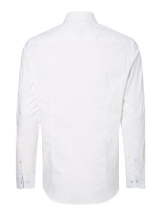 Montego Modern Fit Business-Hemd mit Button-Down-Kragen Weiß - 1