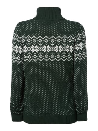 Montego Pullover mit Norweger-Dessin Bottle - 1
