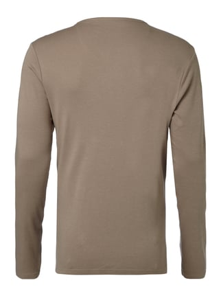 Montego Serafino-Shirt im Double-Layer-Look Taupe - 1