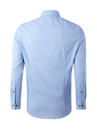 Montego Slim Fit Business-Hemd mit New Kent Kragen Blau - 1