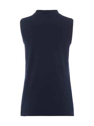Montego Top im Polo-Stil Marineblau - 1