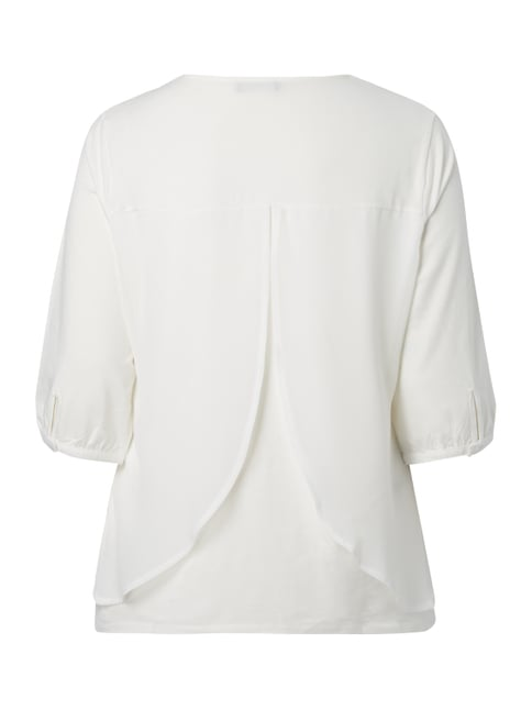 No Secret PLUS SIZE - Blusenshirt mit Spitze Offwhite - 1