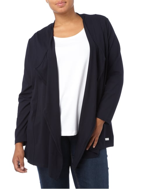 No Secret PLUS SIZE - Cardigan aus Jersey Marineblau - 1