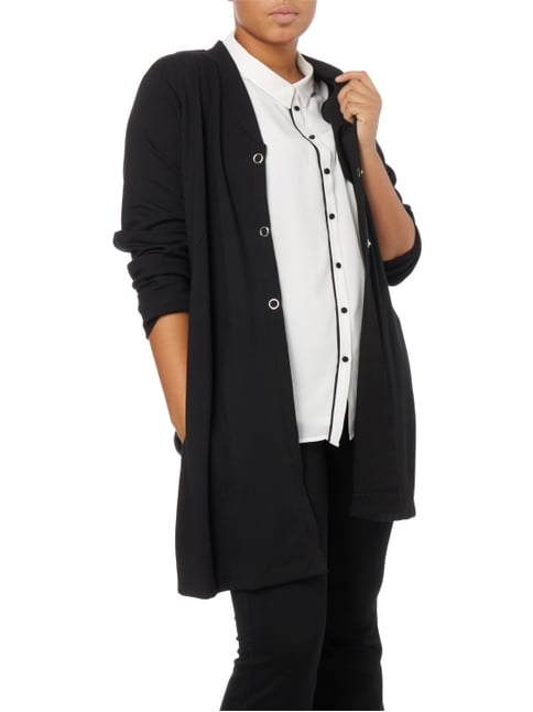 No Secret PLUS SIZE - Cardigan aus Jersey Schwarz - 1