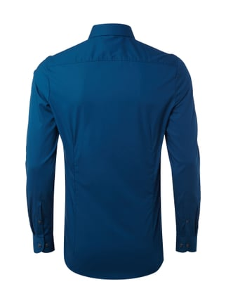 Olymp Level 5 Body Fit Business-Hemd mit Under-Button-Down-Kragen Petrol - 1