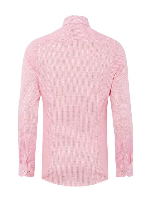Olymp Level 5 Body Fit Hemd mit extralangem Arm Pink - 1