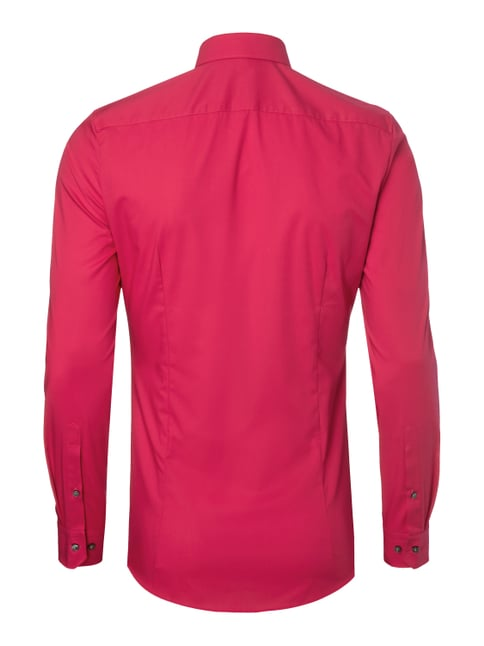 Olymp No.6 Super Slim Fit Business-Hemd - bügelleicht Pink - 1