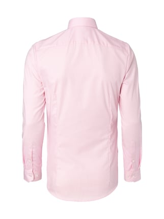 OLYMP No.6 Super Slim Fit Business-Hemd mit Hahnentrittmuster Rosa - 1