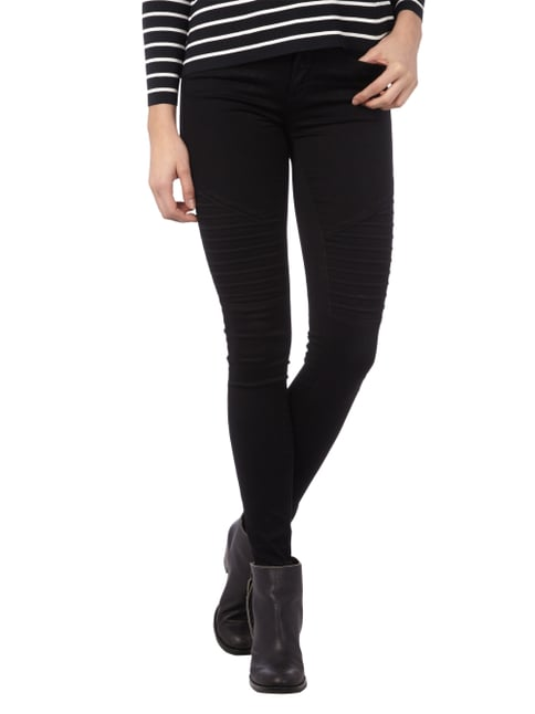Only Coloured Jeans im Skinny Fit Schwarz - 1