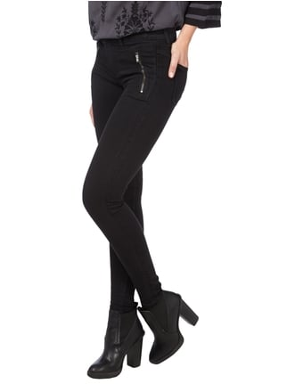 Only Second Skin Skinny Fit Jeans Schwarz - 1
