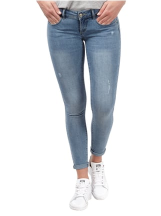 Only Skinny Fit 5-Pocket-Jeans im Used Look Jeans - 1