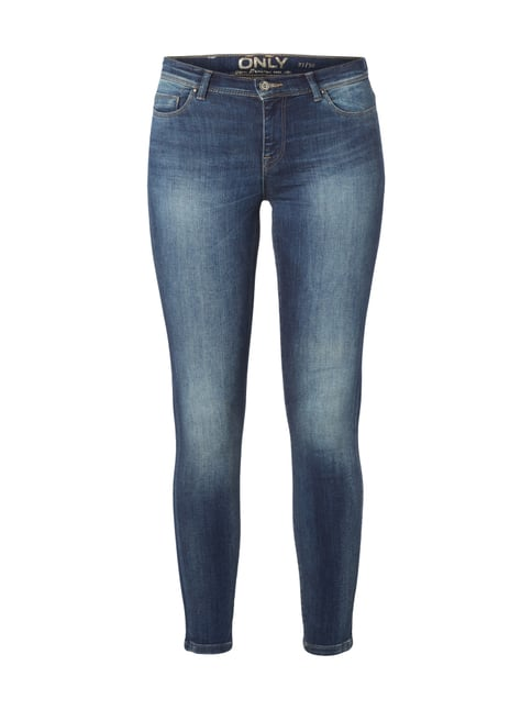 Skinny Fit Shape Up 5-Pocket-Jeans Blau / Türkis - 1