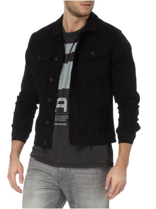 Only & Sons Jeansjacke aus Coloured Denim Schwarz - 1