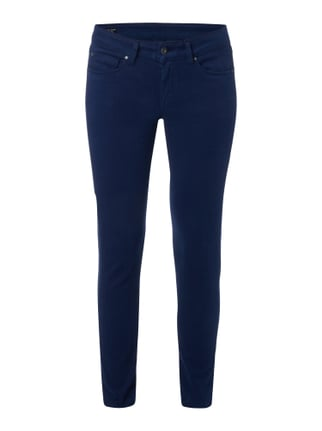 Coloured Regular Fit 5-Pocket-Jeans Blau / Türkis - 1