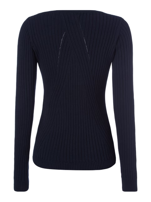 Pepe Jeans Pullover im Rippenstrick Dunkelblau - 1