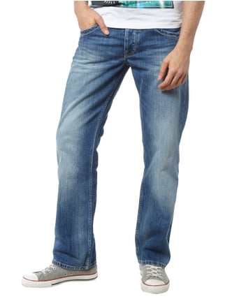 Pepe Jeans Regular Fit 5-Pocket-Jeans im Stone Washed-Look Jeans - 1