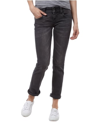 Pepe Jeans Regular Fit Dirty Washed 5-Pocket-Jeans Anthrazit - 1