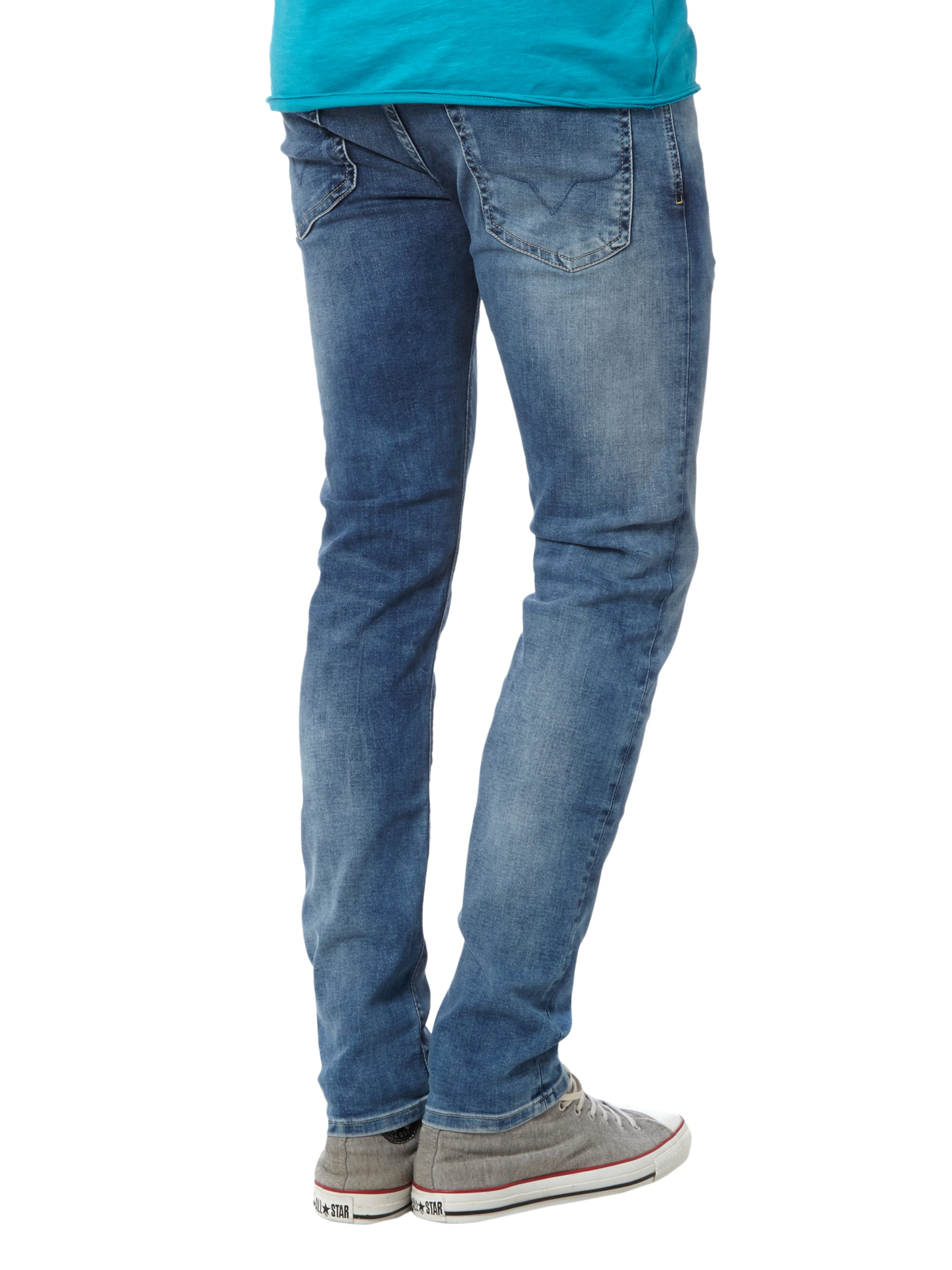pepe jeans slim fit low waist jeans im stone washed look. Black Bedroom Furniture Sets. Home Design Ideas