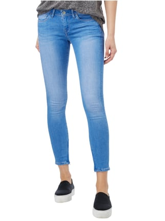 Pepe Jeans Stone Washed Skinny Fit 5-Pocket-Jeans Jeans - 1