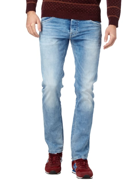 Pepe Jeans Stone Washed Slim Fit 5-Pocket-Jeans Jeans - 1