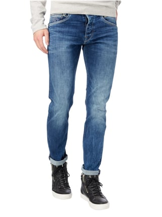 Pepe Jeans Stone Washed Slim Fit Jeans mit Knopfleiste Jeans - 1