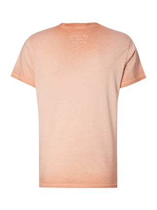 Pepe Jeans T-Shirt im Washed Out Look Koralle - 1