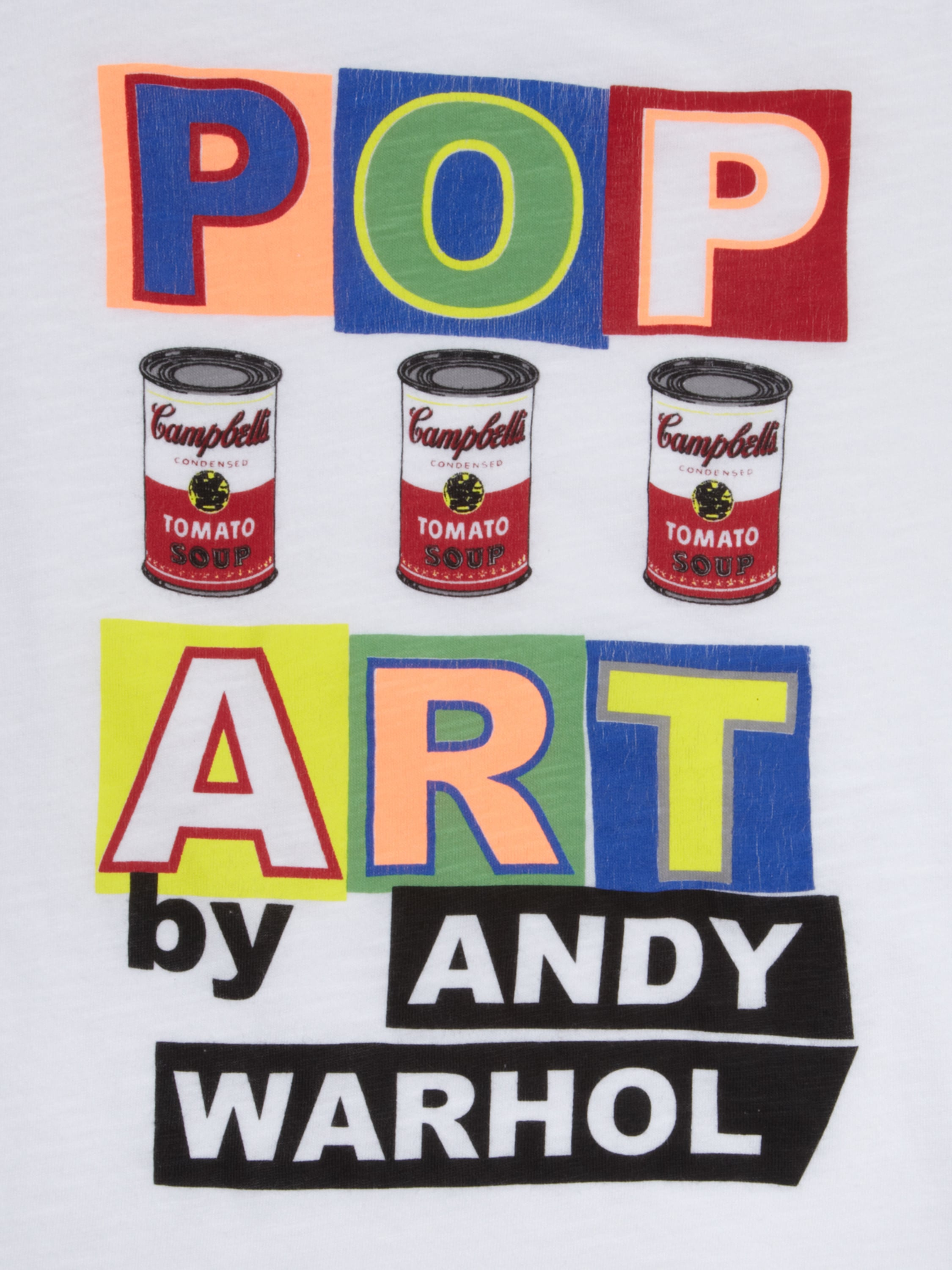 t shirt mit print by andy warhol fashion id online shop. Black Bedroom Furniture Sets. Home Design Ideas