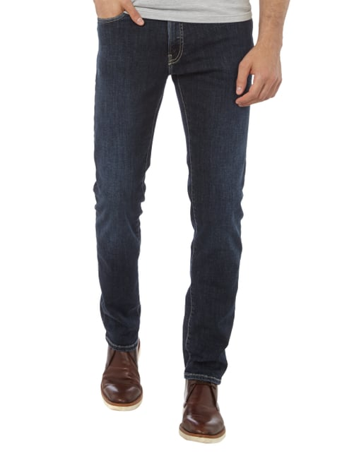 Pierre Cardin 5-Pocket-Jeans mit Stretch-Anteil Blau - 1