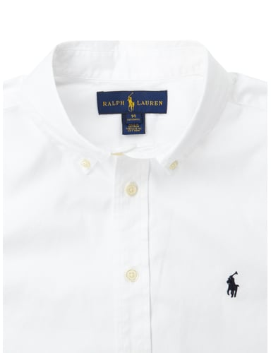 ralph lauren childrenswear custom fit hemd mit button down. Black Bedroom Furniture Sets. Home Design Ideas