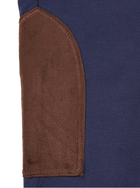 Leggings mit Kontrastbesatz in Veloursleder-Optik Ralph Lauren Childrenswear online kaufen - 1