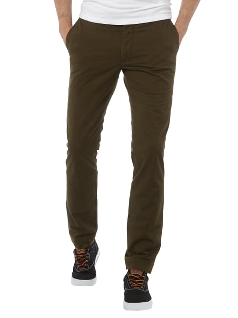 Polo Ralph Lauren Slim Fit Chino mit Stretch-Anteil Olivgrün - 1