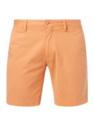Straight Fit Bermudas aus reiner Baumwolle Orange - 1