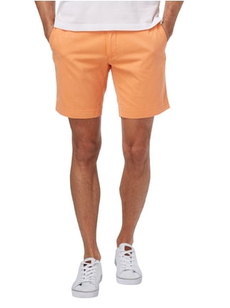 Polo Ralph Lauren Straight Fit Bermudas aus reiner Baumwolle Orange - 1