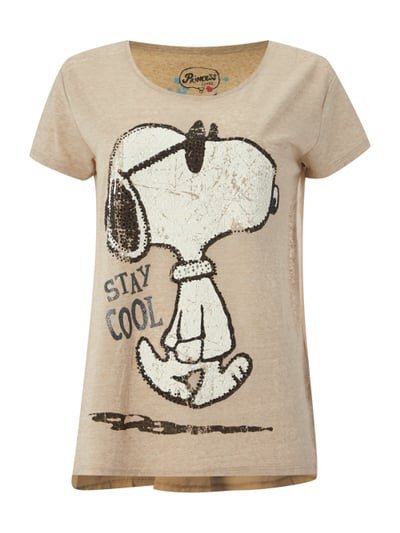 oversize shirt mit snoopy print fashion id online shop. Black Bedroom Furniture Sets. Home Design Ideas