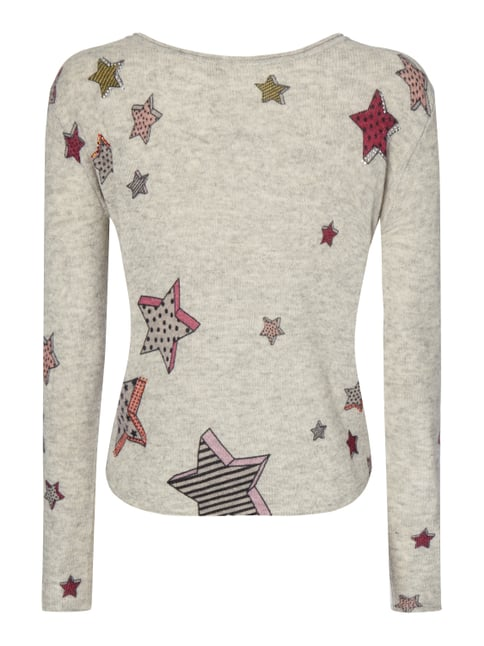 Princess Goes Hollywood Pullover aus Woll-Kaschmir-Mix Hellgrau - 1