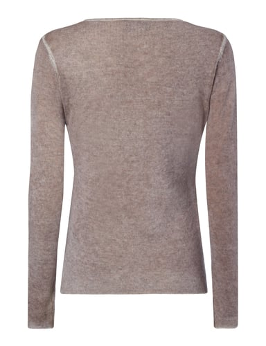 Princess Goes Hollywood Pullover in Melangeoptik Taupe - 1