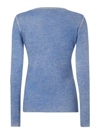Princess Goes Hollywood Pullover mit V-Ausschnitt Marineblau - 1