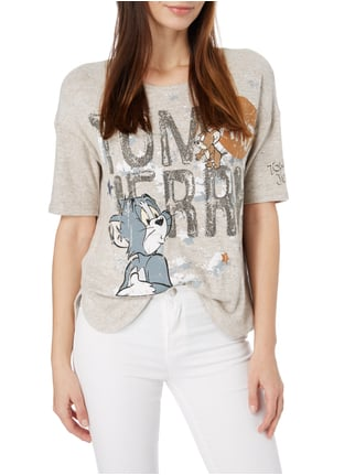 Princess Goes Hollywood Shirt mit Print Beige - 1