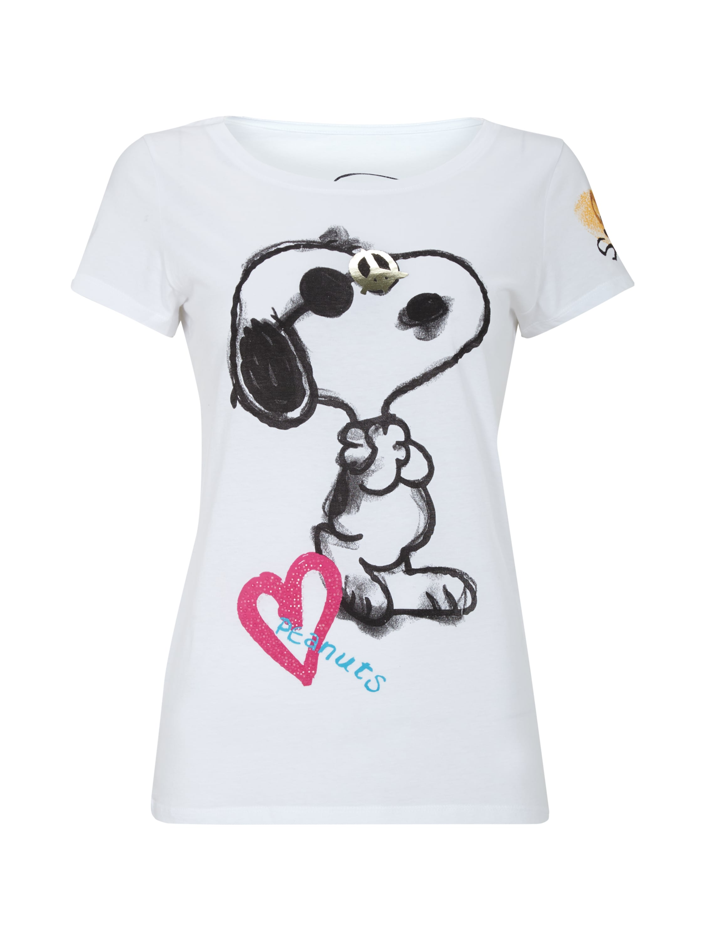 shirt mit snoopy print fashion id online shop. Black Bedroom Furniture Sets. Home Design Ideas